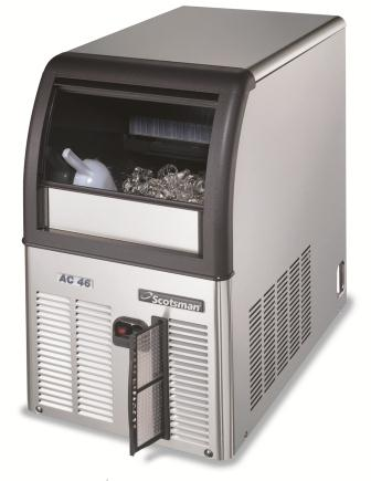 AC46 self contained ice cuber 9kg storage, Scotsman