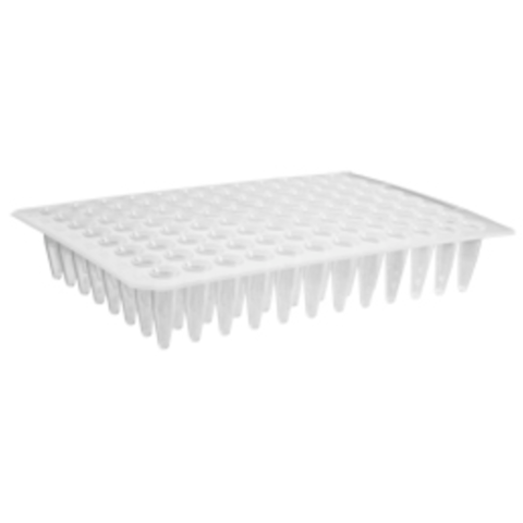 96 Well Clear Flat Top PCR Plate, Axygen