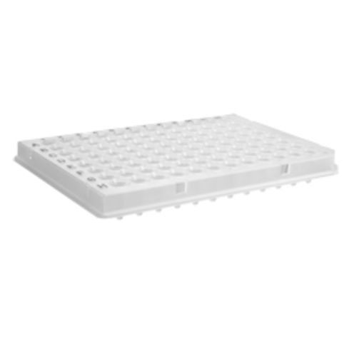 96 Well PCR Plate for Roche 480 Light Cycler, White, Bar coded, with Sealing Film, Axygen