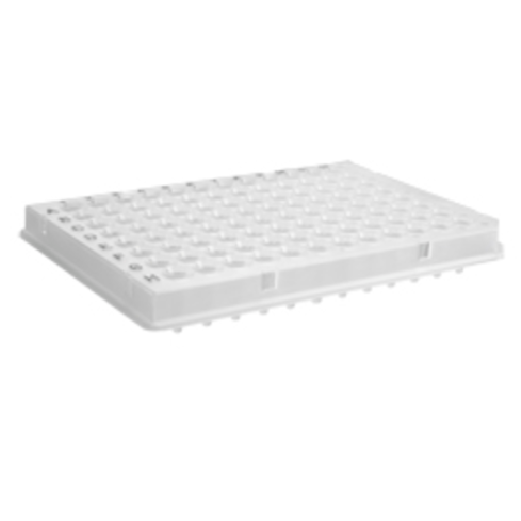 96 Well PCR Plate for Roche 480 Light Cycler, White (No Sealing Film), Axygen