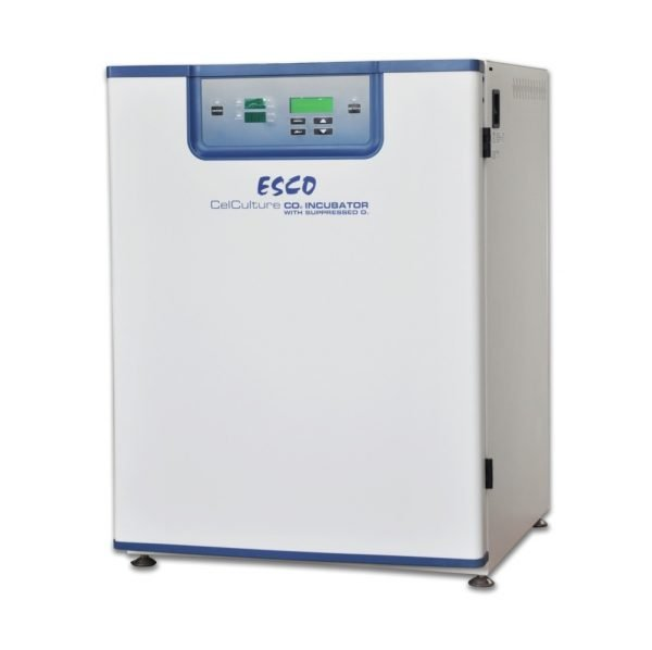 CelCulture® Trigas Incubator 170L, CO2/O2 Control, no filter, Moist Heat Decon (inc. stacking kit)