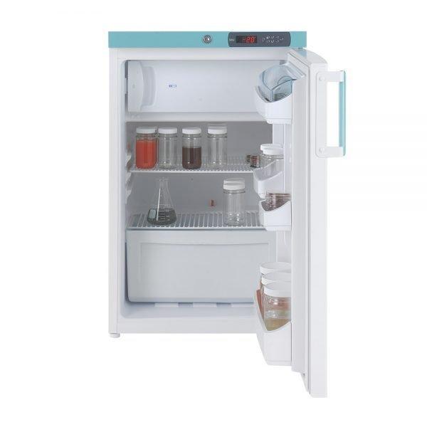 Laboratory Fridge/Freezer, Sparkfree, 138 litres, LEC Medical