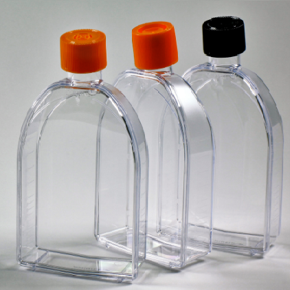 75cm²  U-shaped Canted Neck Culture Flask with Vent Cap, Corning