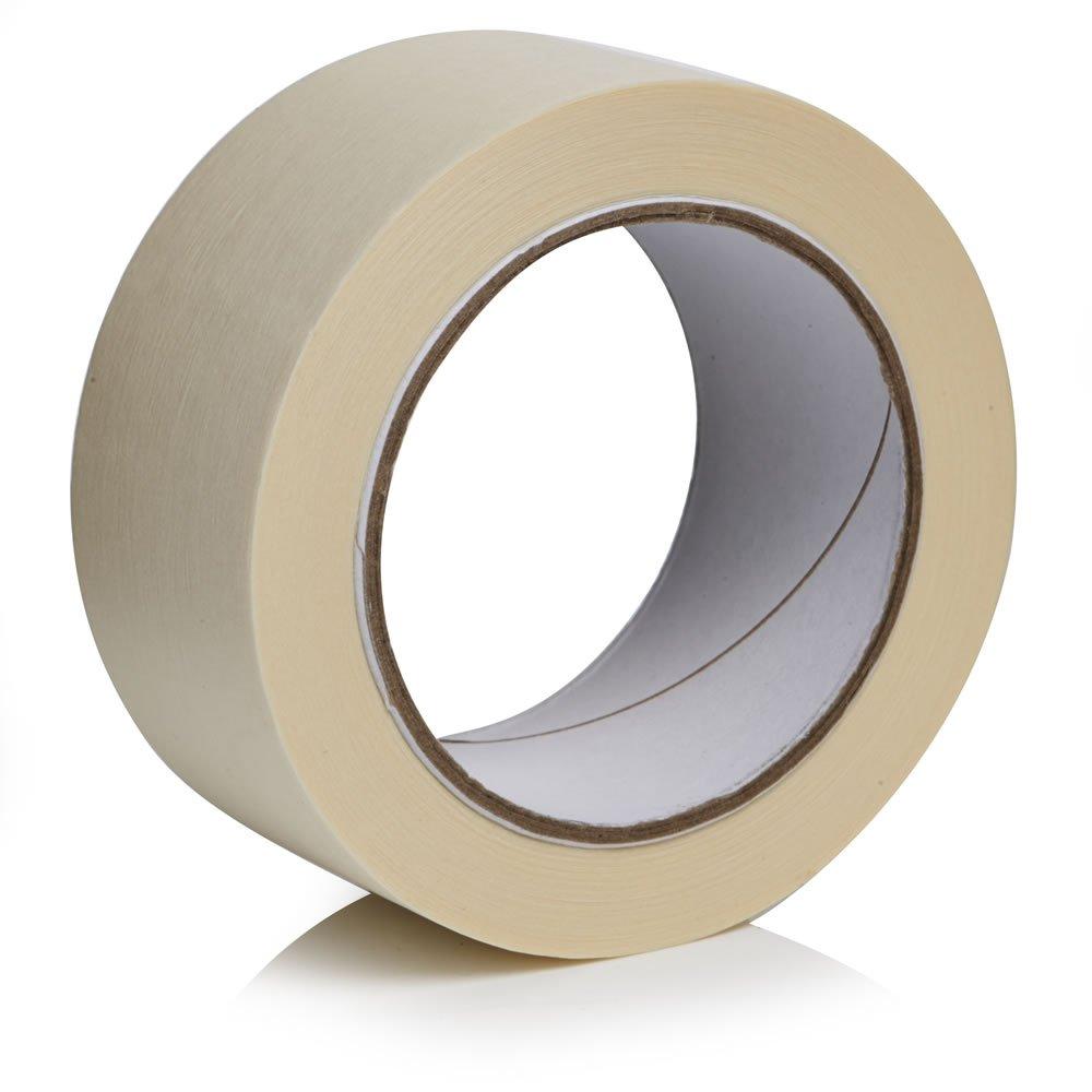 Plain masking tape 25mm x 50m