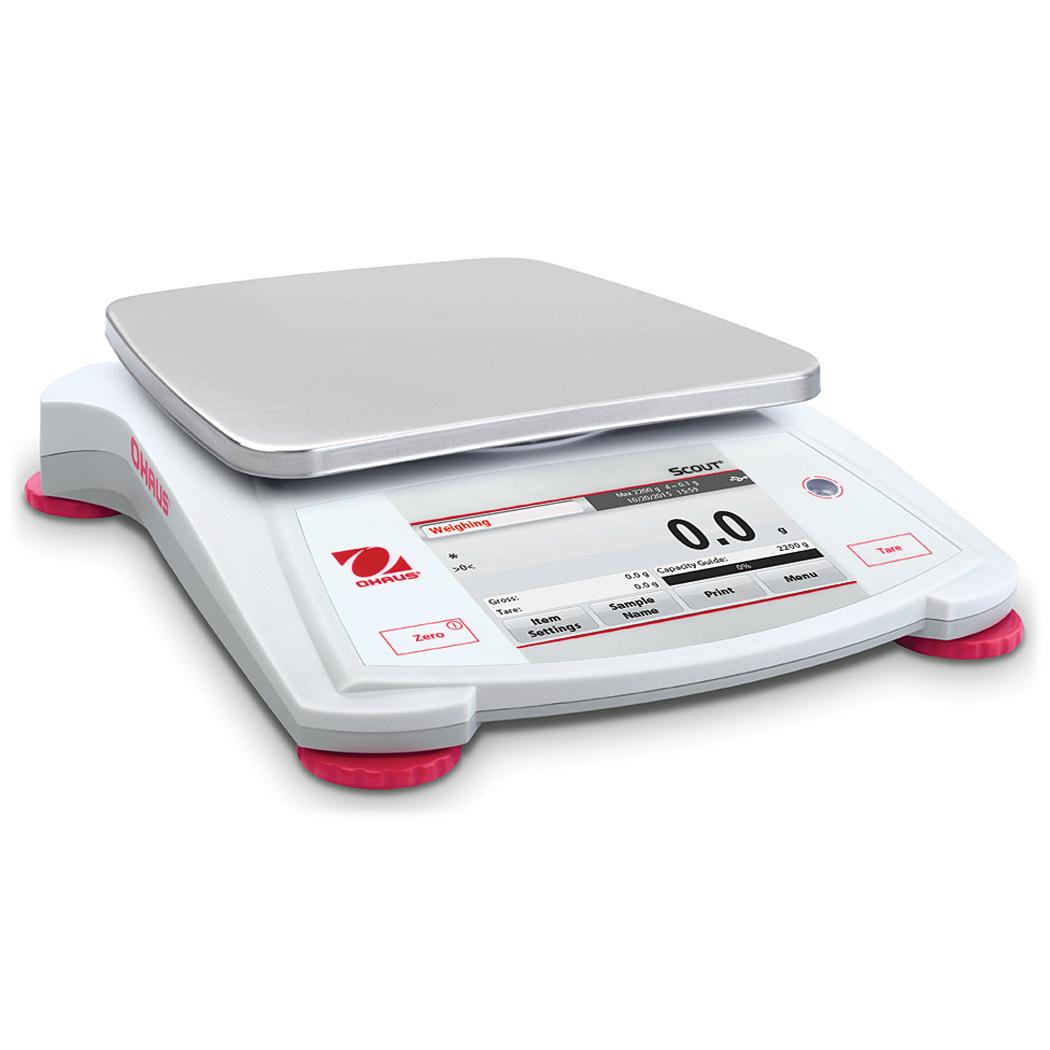 Scout STX portable balance, 2200g/0.01g, Ohaus