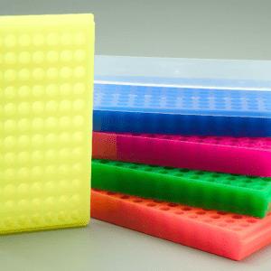 PCR tube rack, fl assorted