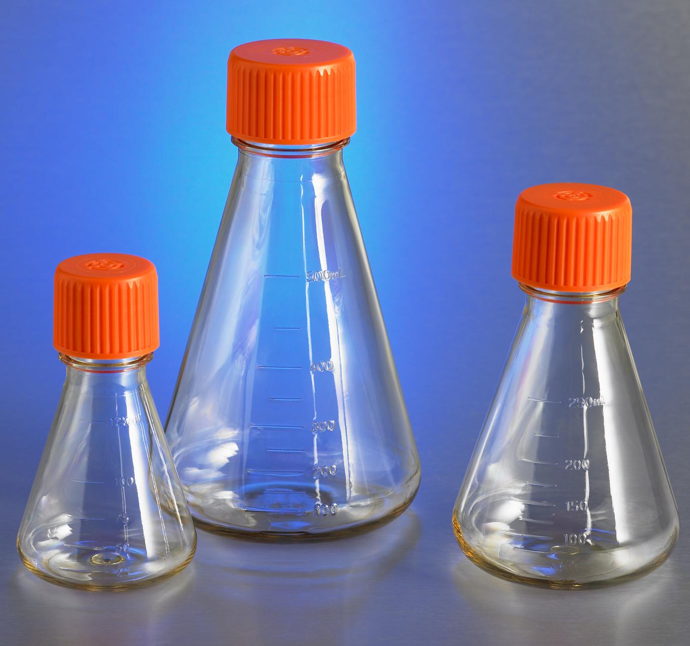 Erlenmeyer Flasks, Corning