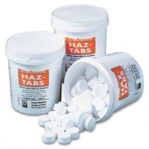 Chlorine Release Tablets, Haz-Tabs
