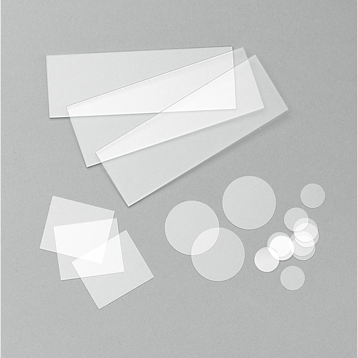 Microscope Slides 76x26mm, 1.0-1.2, frosted one end (50/pack)