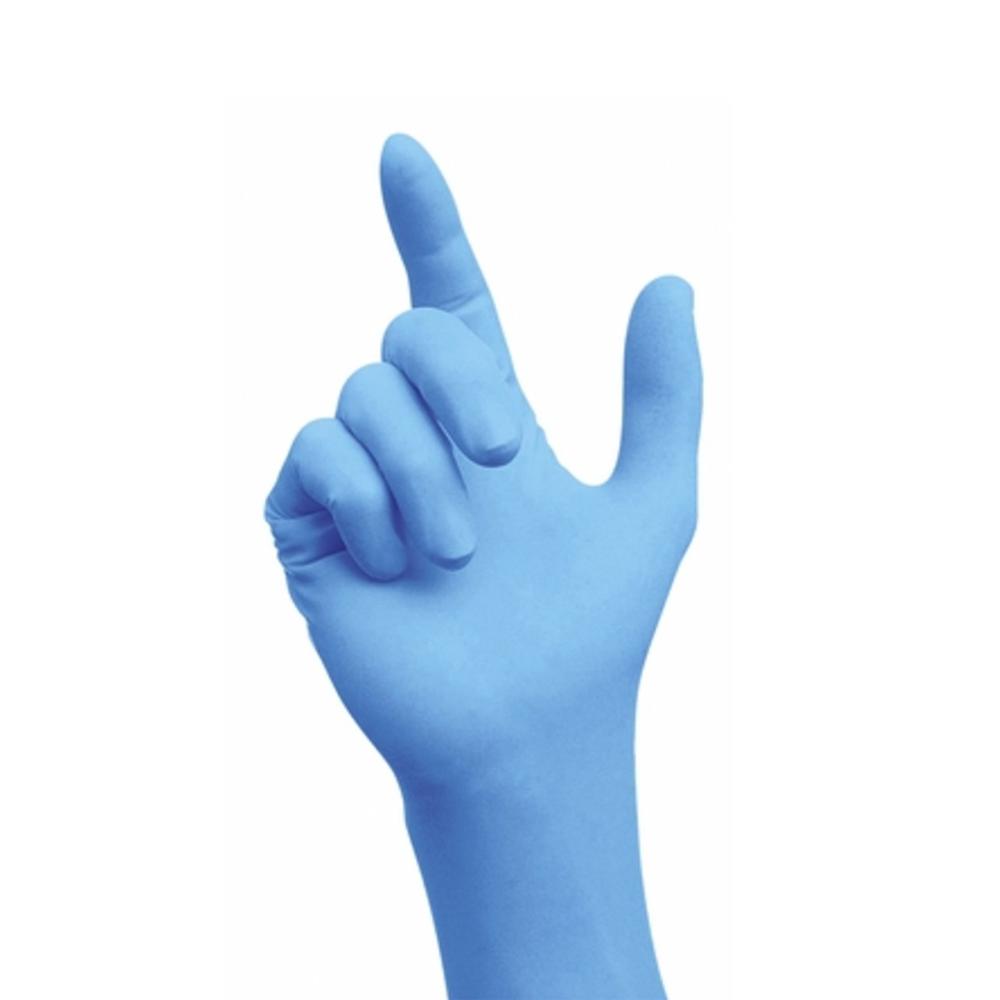 Nitrile gloves, powder free, x-large, Semperguard