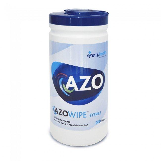 Bactericidal wipes, 130x185mm, Azowipe