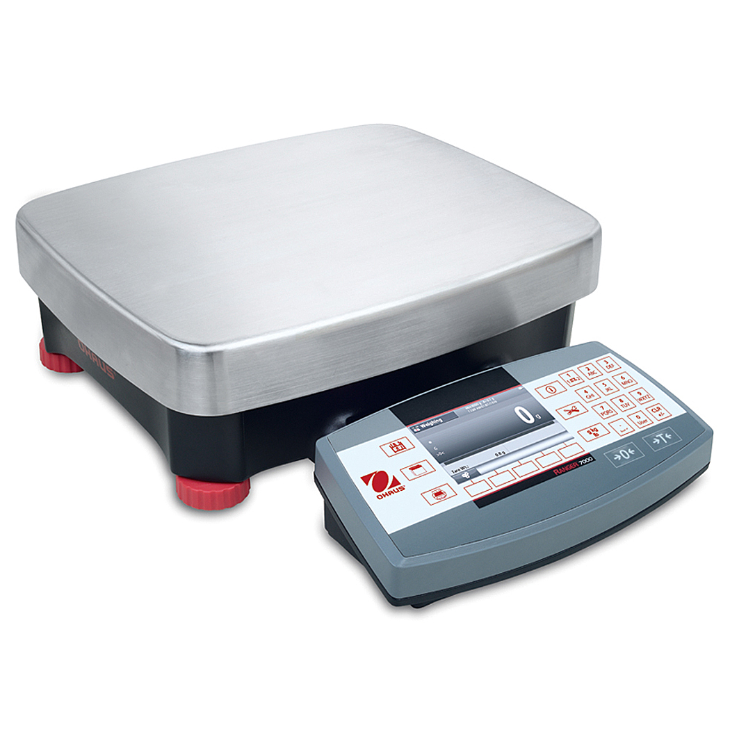 Ranger 7000 Compact Bench Scale, approved, 15kg, 0.2g, 377 x 311 mm, Ohaus