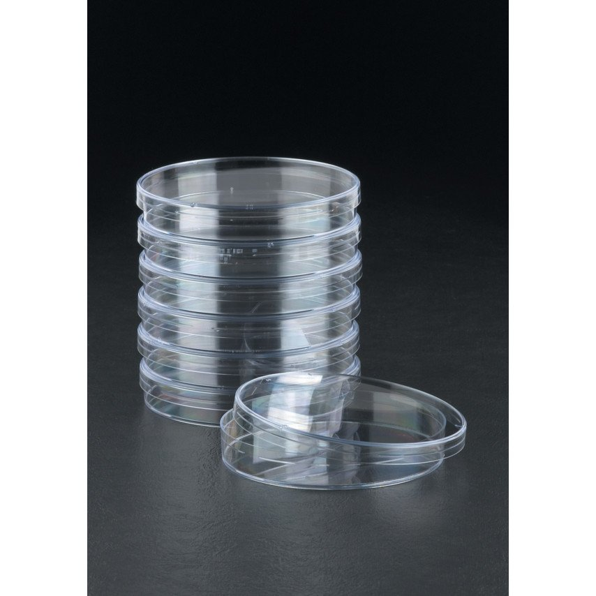 50mm Single vent shallow (10mm) petri dish, Sterilin