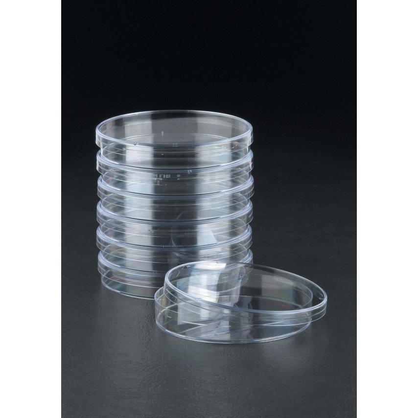 90mm, 2 Compartment petri dish, frosted, Sterilin