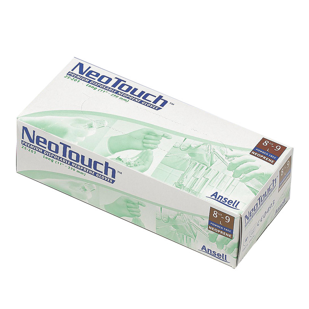Neoprene Gloves, Powder Free, NeoTouch, Ansell