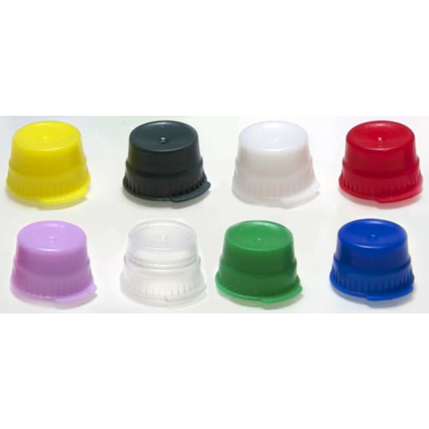 12mm Push fit test tube cap, green