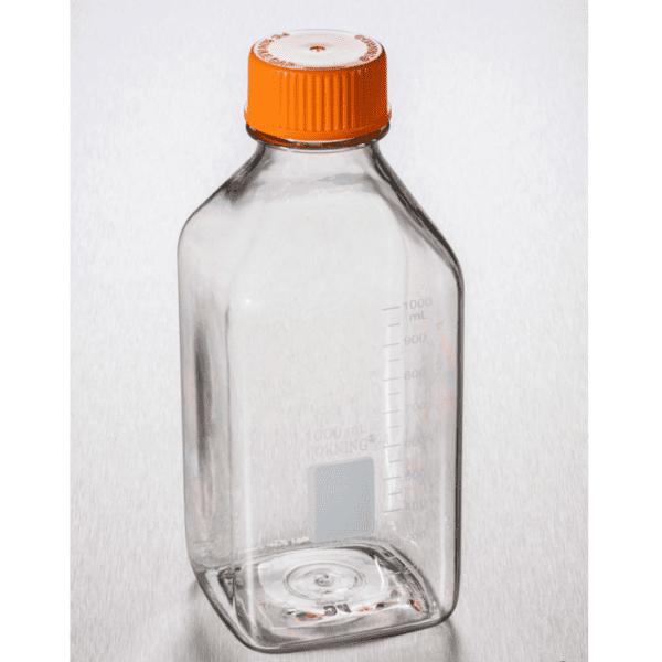 Square PC storage bottle 1000ml, Corning