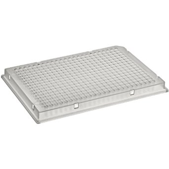 384 well plate with lid, Corning