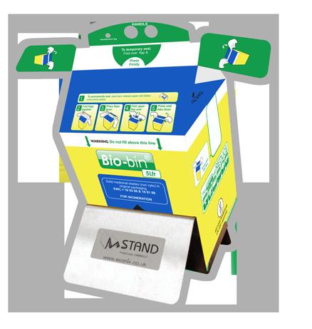 M stand for Bio-bin 5Ltr