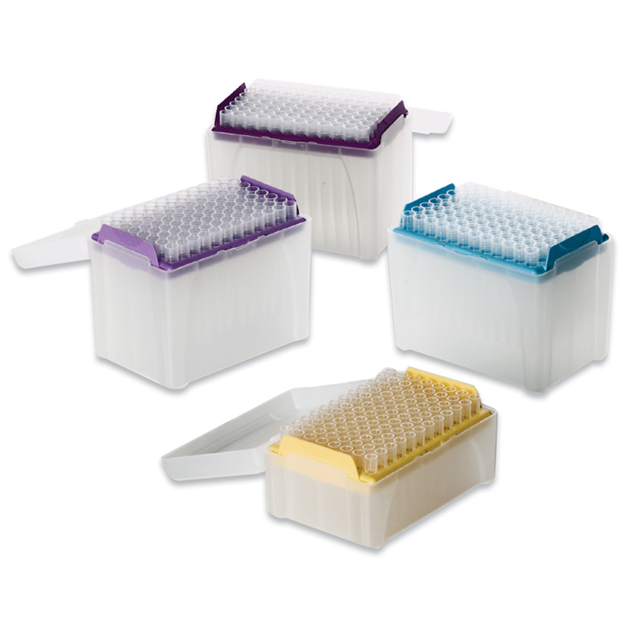 5-350ul Racked pipette tips, sterile