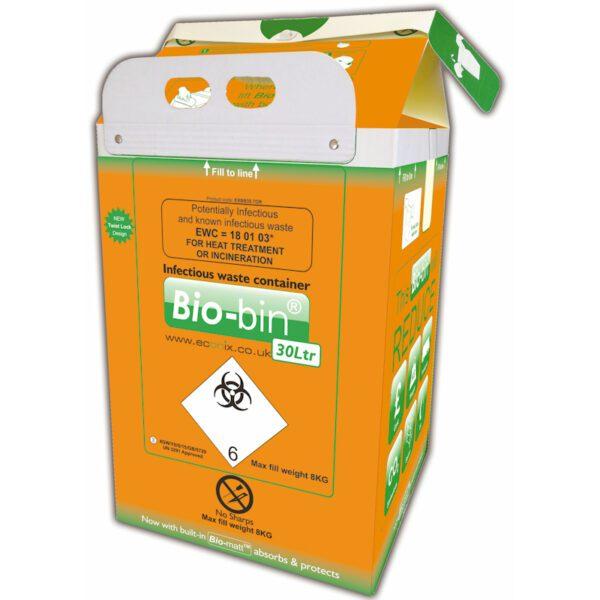 Bio-bin, 30Ltr, Orange (10)