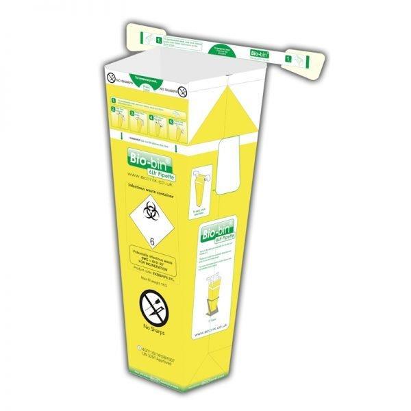 Bio-bin, 6Ltr, Yellow