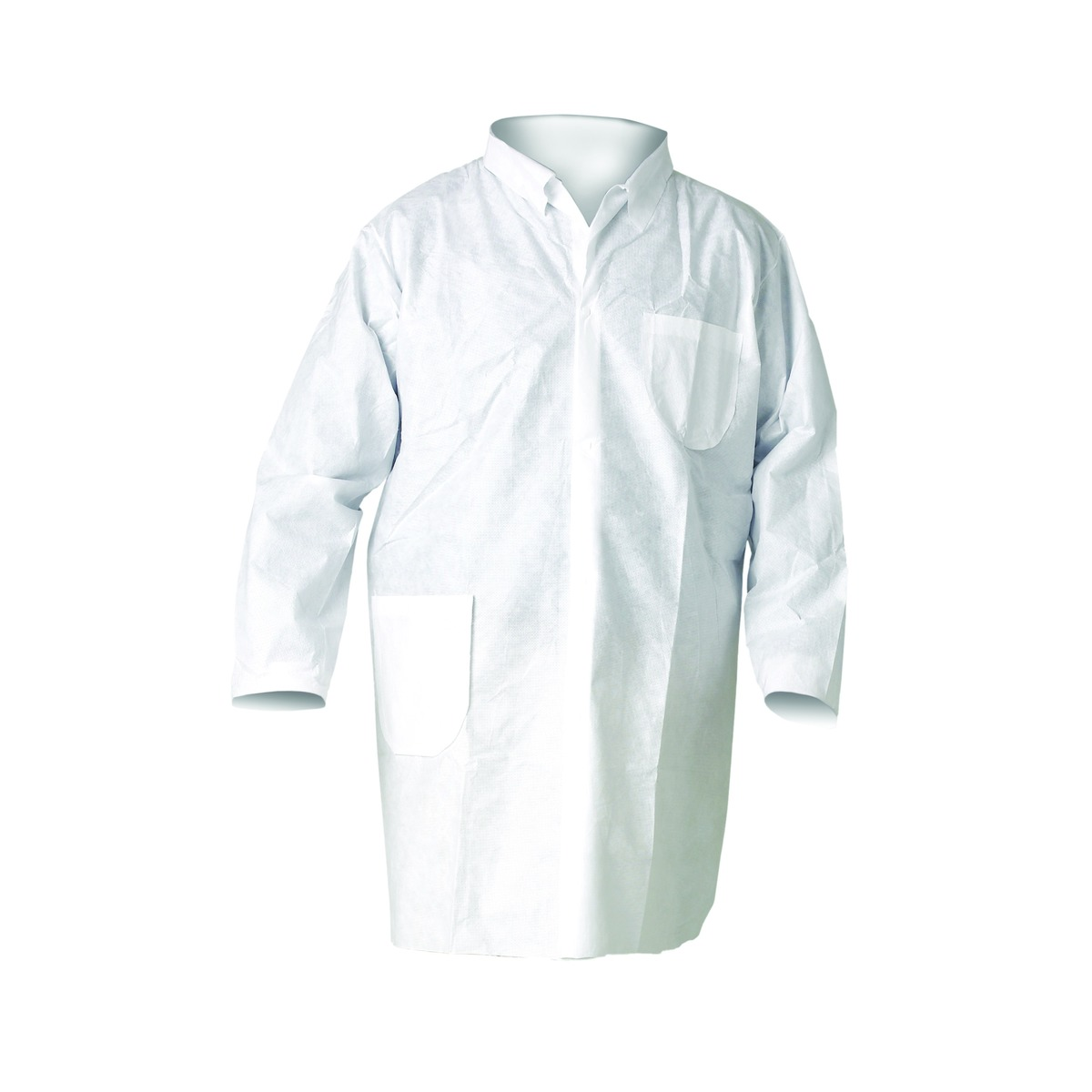 Disposable lab coat, large