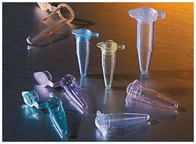 0.2ml PCR tubes, flat cap, assorted colours, Thermowell GOLD, Corning