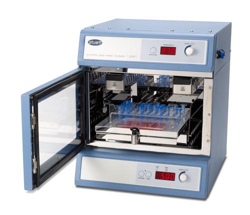Microtitre plate shaking incubator, Stuart