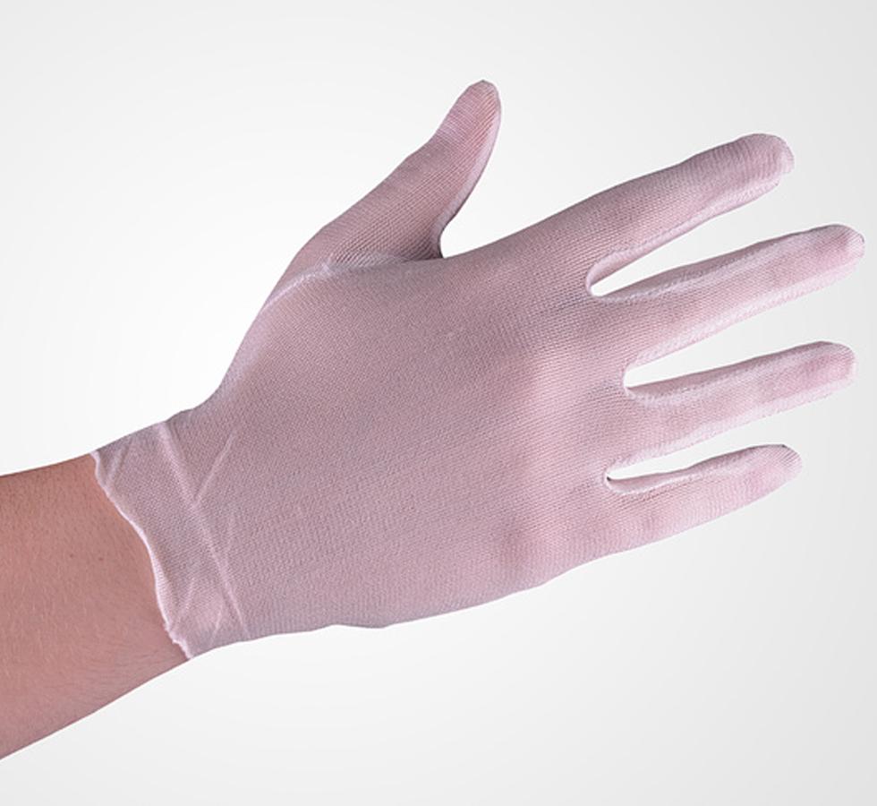 Silk glove liner, medium