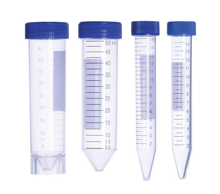 15ml Ps Centrifuge tube, flat top, racked, sterile (500)
