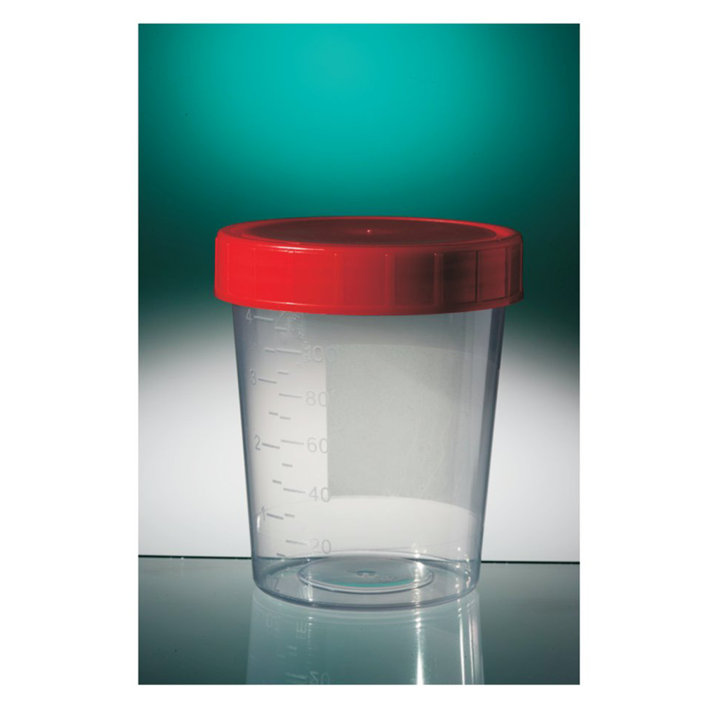 60ml PP Container, clear base, white cap, no label, (H:70mm; Dia: 33mm), Gosselin