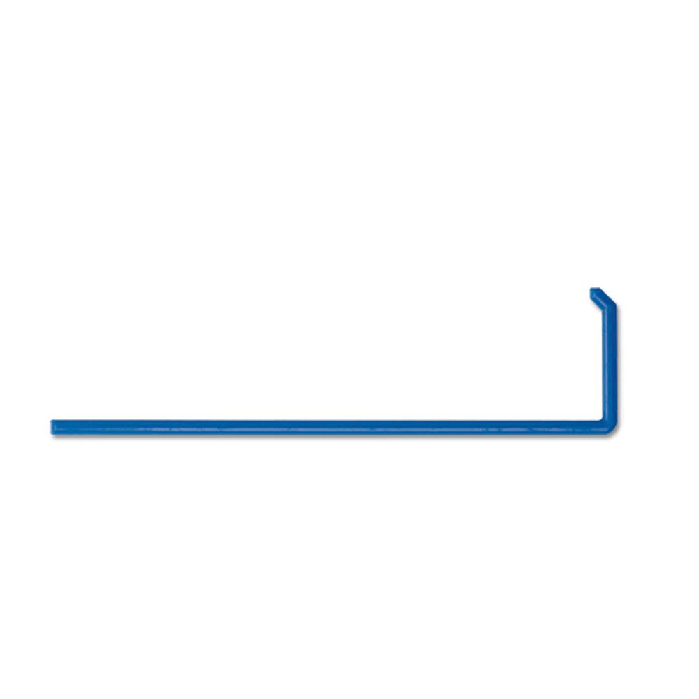 """""""L"""" Shape Plastic Blue Spreader, Inner pack of 5"""