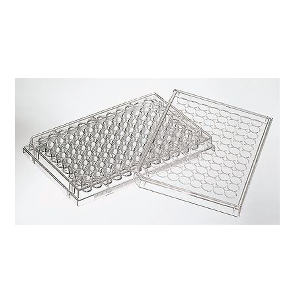 96 well PS assay plate, Flat-well, High Bind, non-sterile, Corning