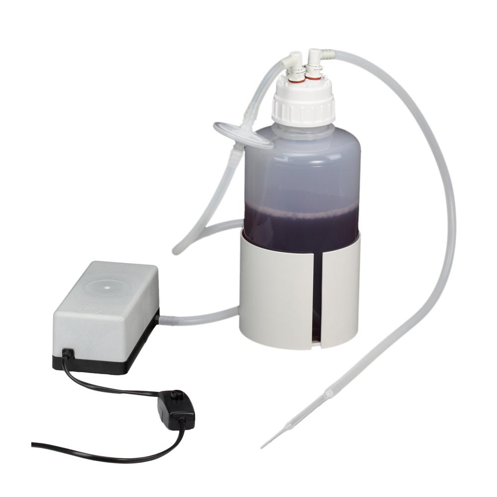 AZ 02 Vacuum Safety Suction System, complete with pump 4 l/min, 2 litre bottle