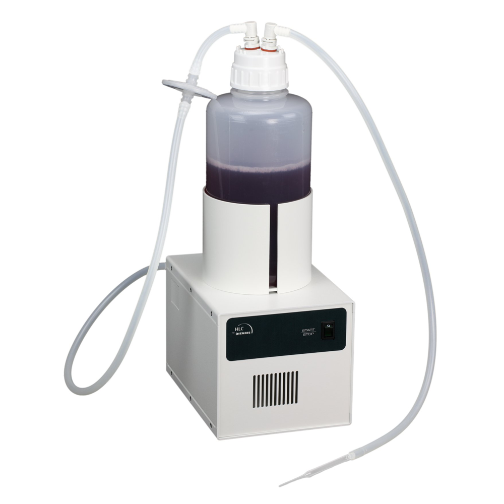 AC 02 Vacuum Safety Suction System, complete with pump 15 l/min, 2 litre  bottle