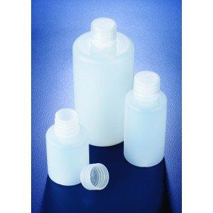 250ml HDPE round bottle, narrow neck, Azlon