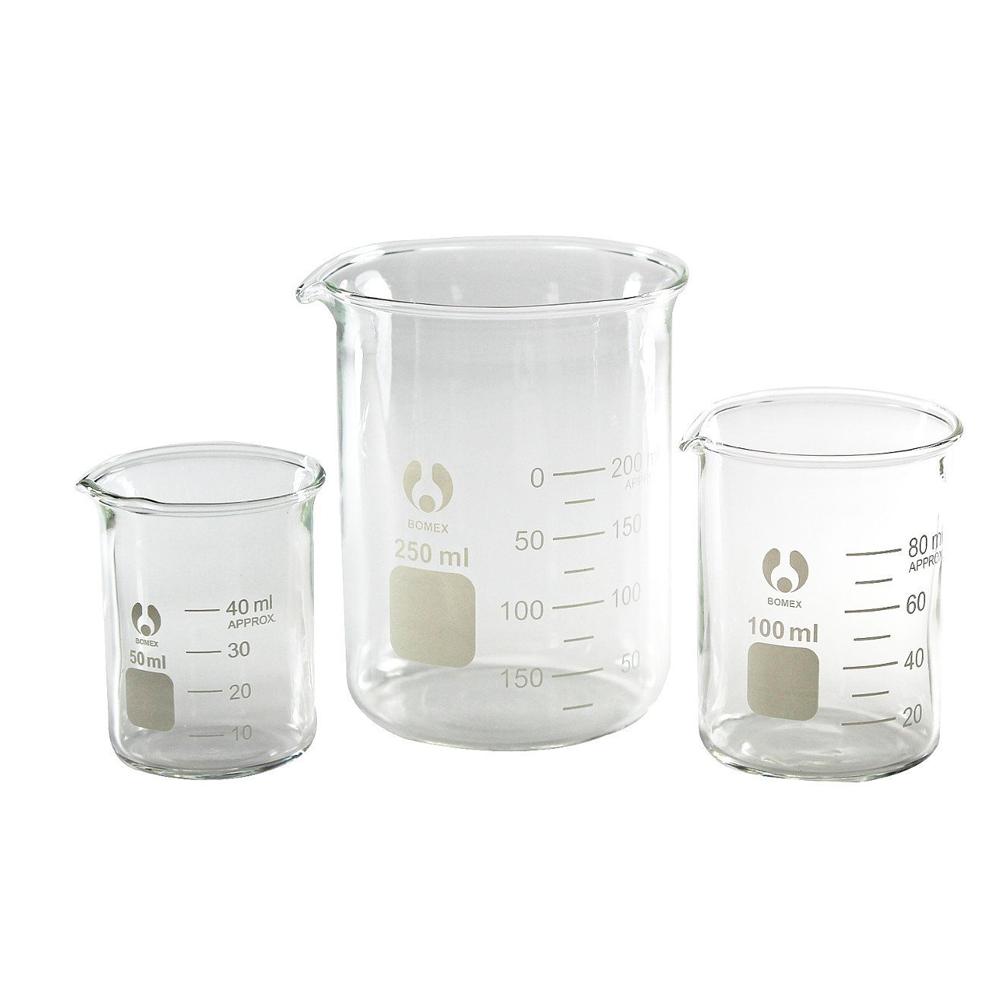 600ml low form glass beaker