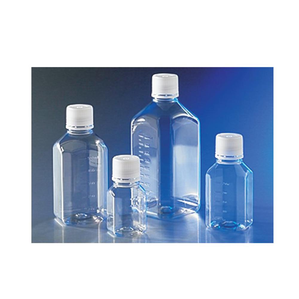 Bottle PET 1000 mL, Octagonal, 31.7mm Screw Cap, Sterile