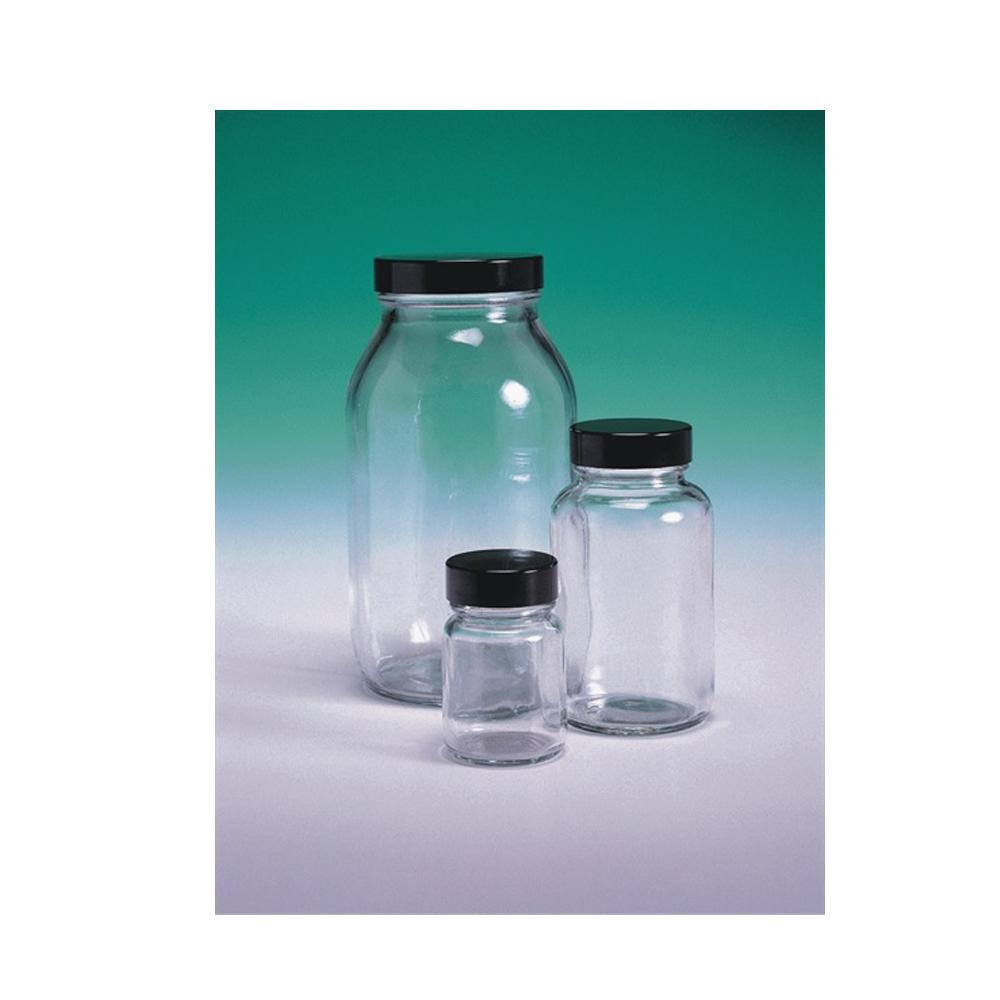 Powder Bottle, glass, with cap, 250ml