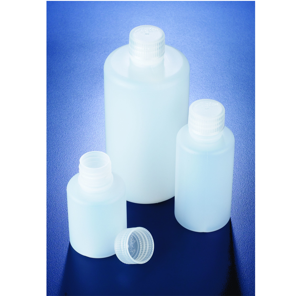 1000ml LDPE round bottle, narrow neck, Azlon
