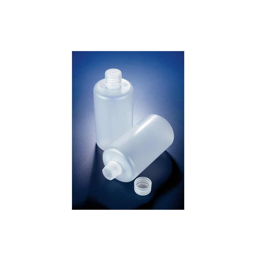 1000ml Polypropylene round bottle, narrow neck, Azlon