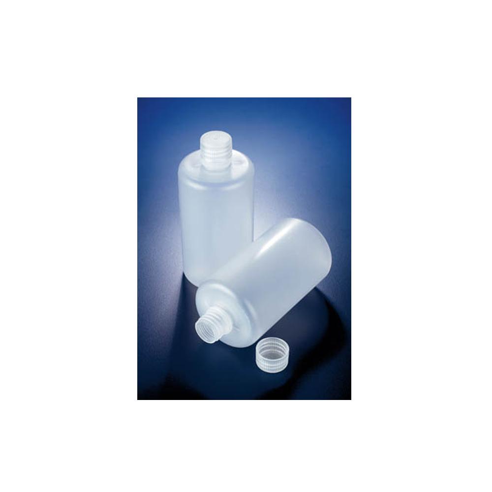 2000ml Polypropylene round bottle, narrow neck, Azlon