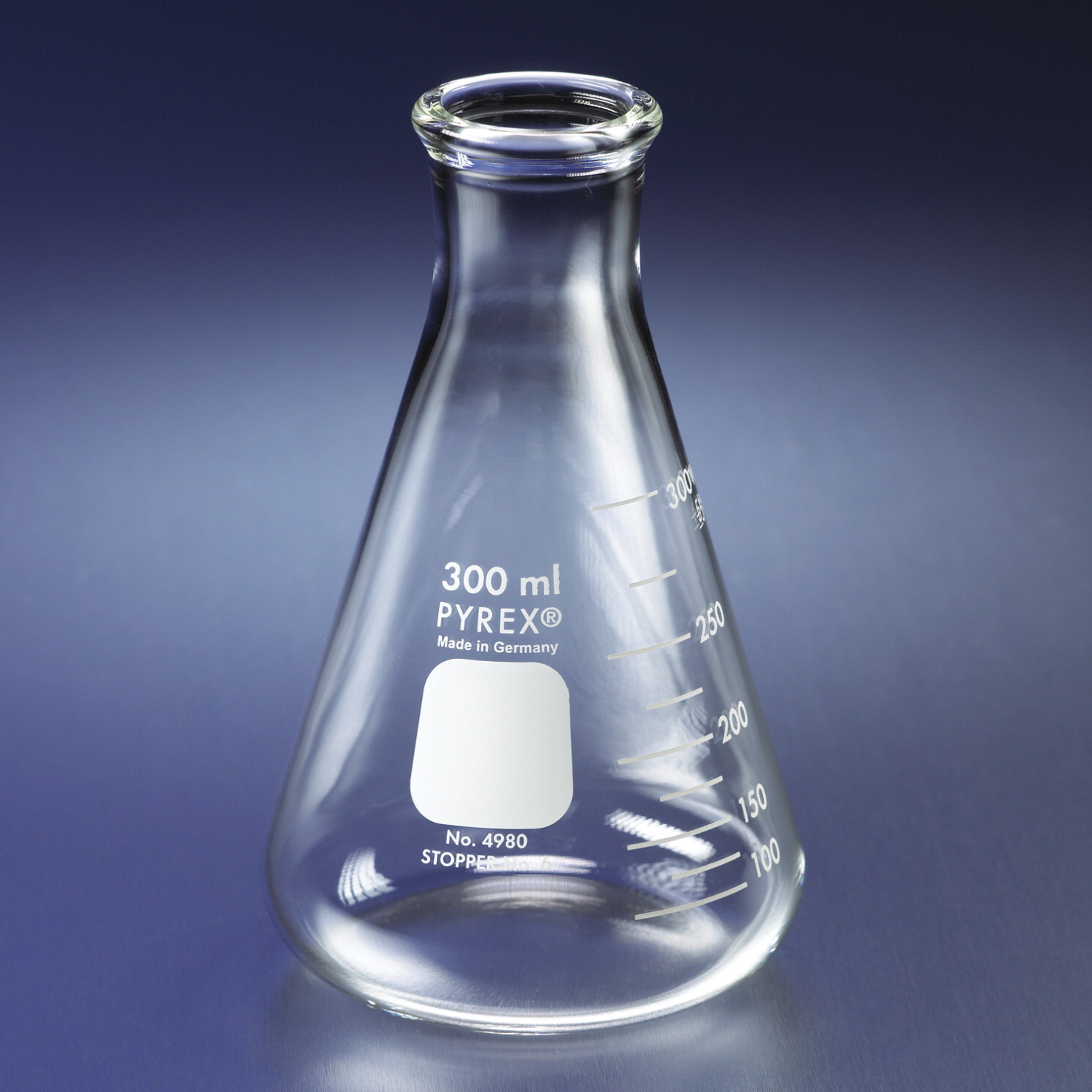 250ml Conical baffle flask
