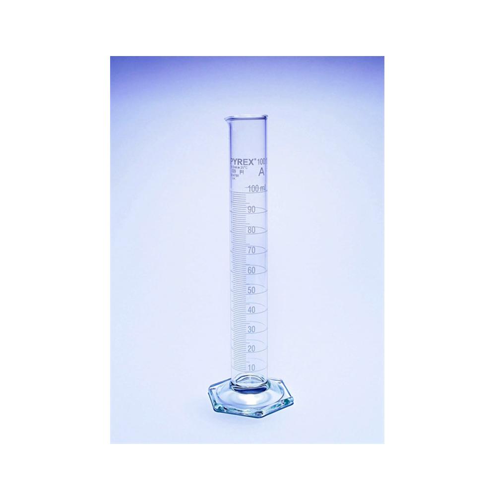 25ml Measuring cylinder, Pyrex