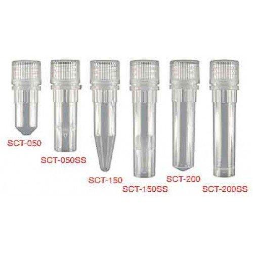 Screw Cap Polypropylene Microcentrifuge Tubes, Axygen