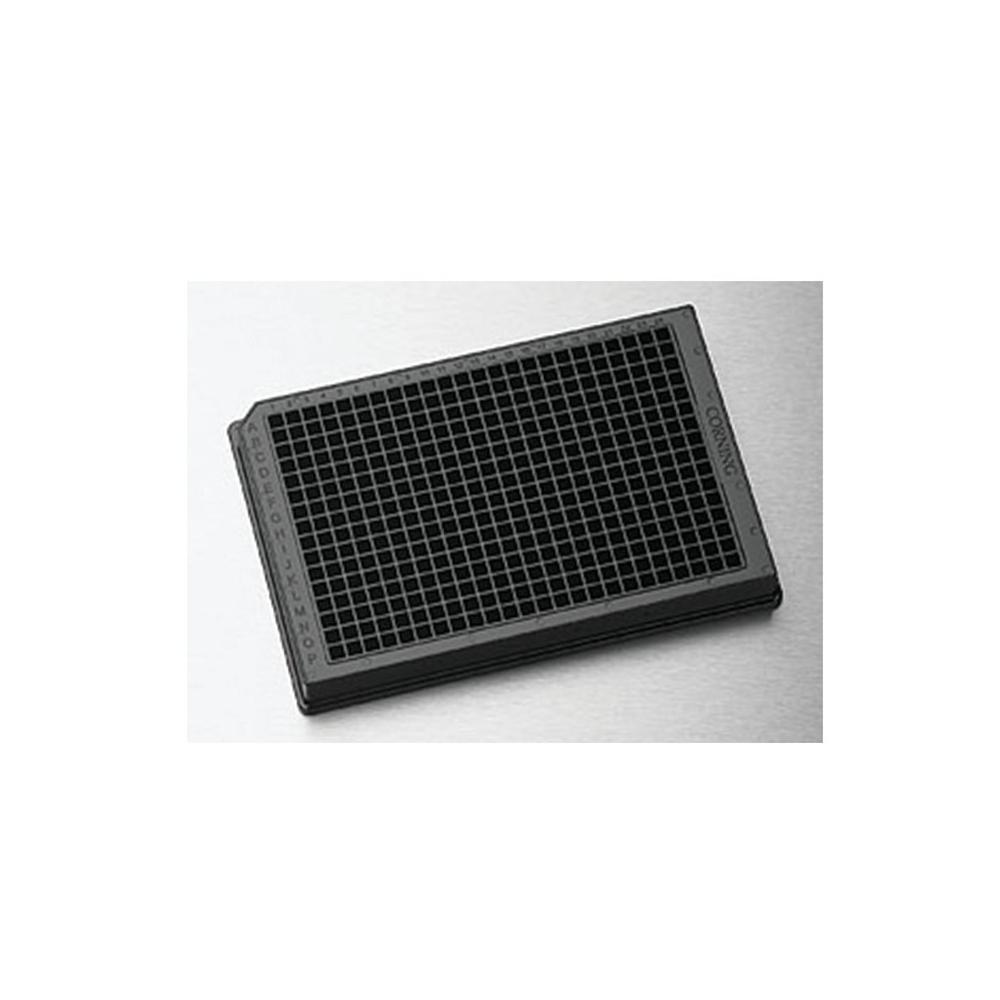 384 Well plates, low vol. NBS, black/clr, Corning