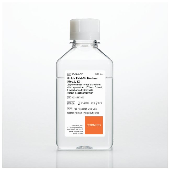 Insectagro Sf9 serum-free/protein-free, 500ml, Corning