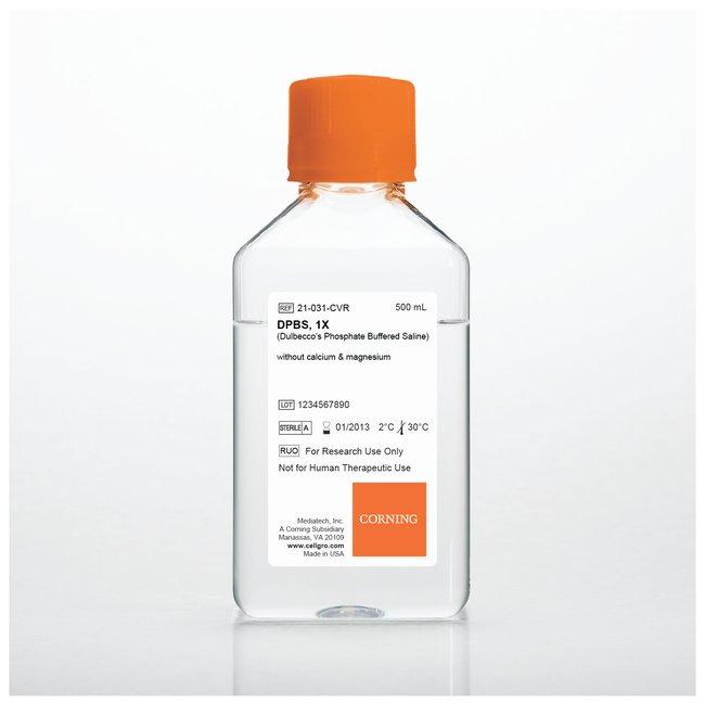 HBSS, without sodium bicarbonate calcium or magnesium, 500ml