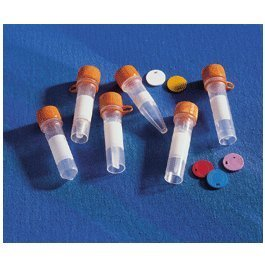 Screw Caps Polypropylene Microcentrifuge Tubes, Corning